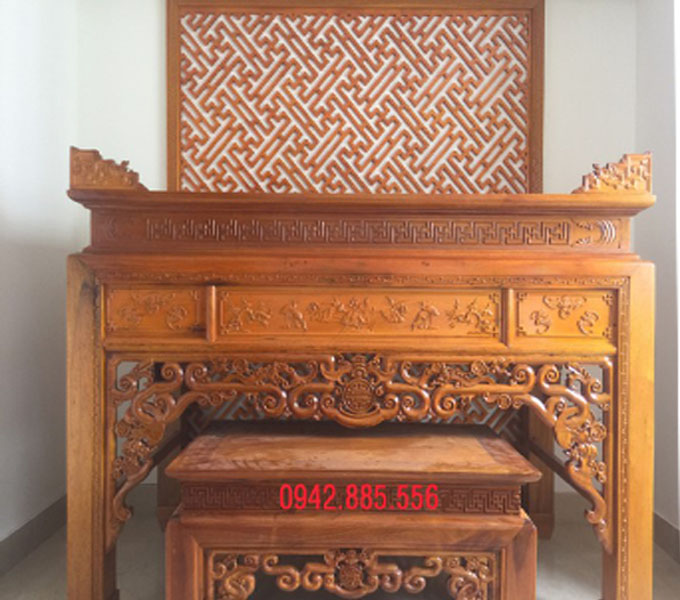 Mẫu bàn thờ chung cư đẹp, gọn gàng