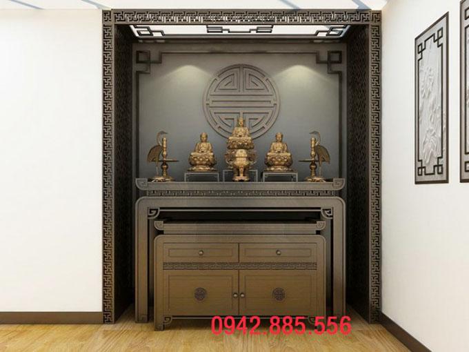 Đặt đóng/ mua mới bàn thờ chung cư tại đồ thờ Sơn Đồng