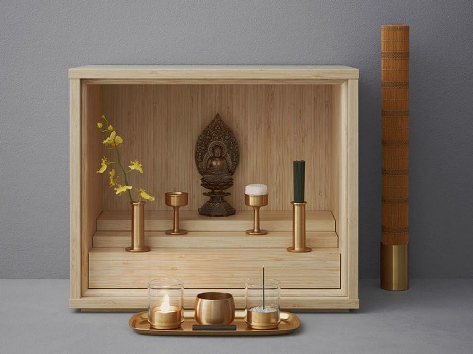 Tủ thờ phong cách tối giản