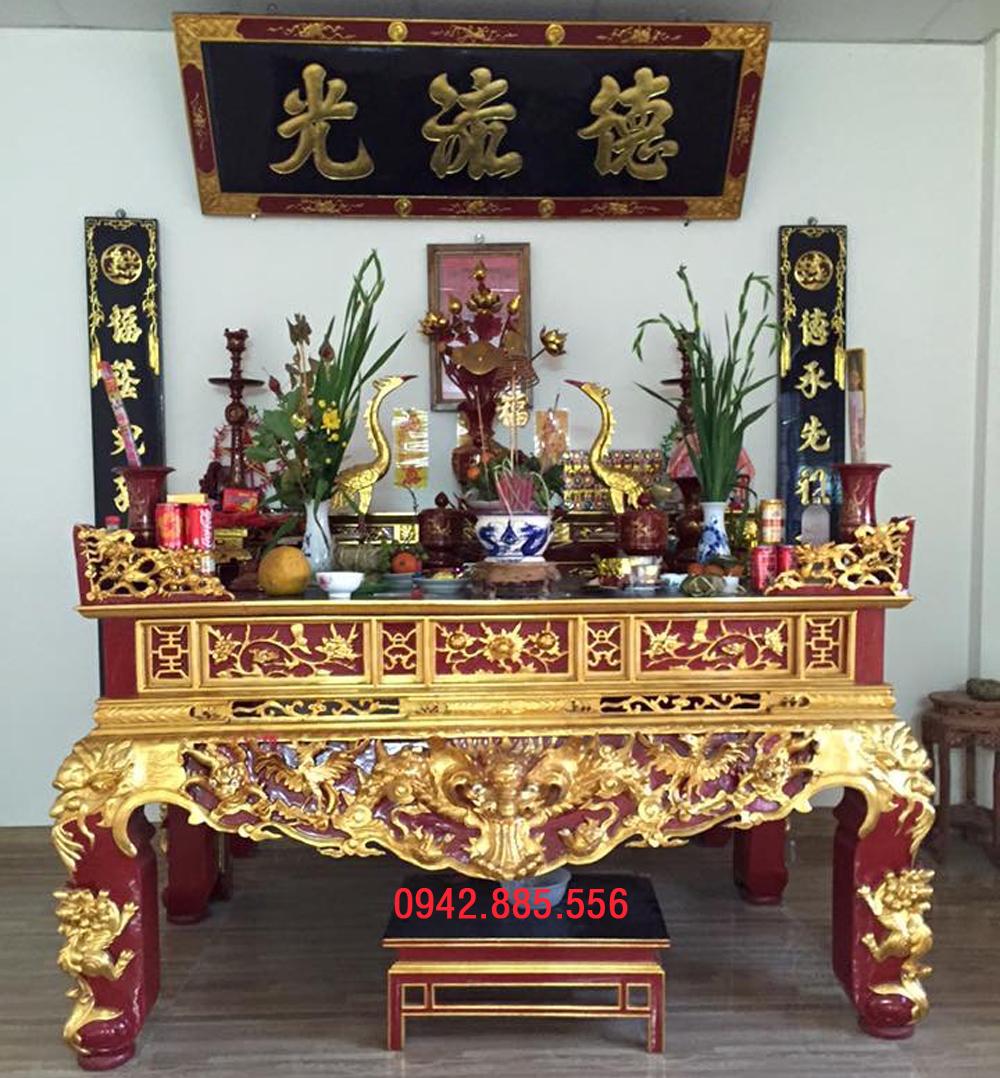 Hướng dẫn sắm lễ trước khi xử lý bàn thờ cũ không sử dụng