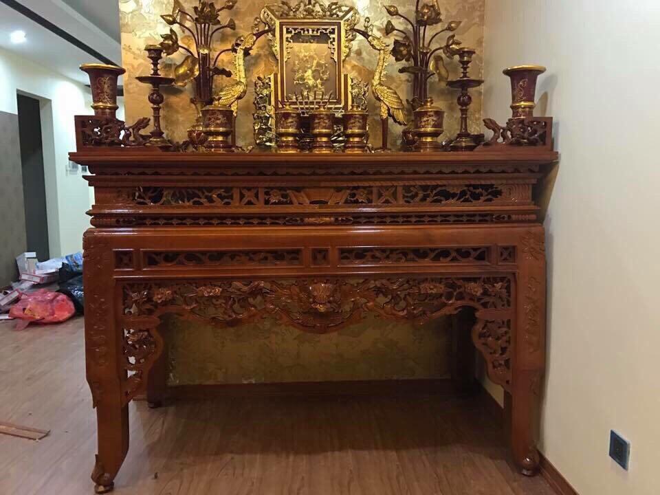 Bán bàn thờ tâm linh Sơn Đồng chất lượng cao