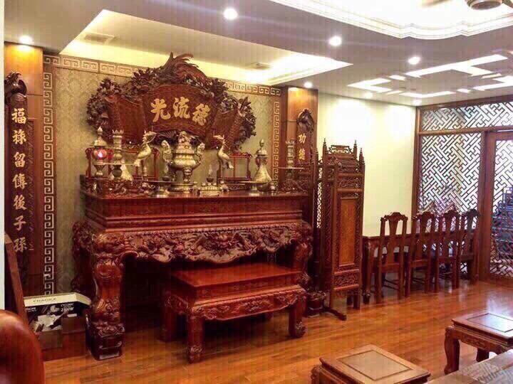 Bàn thờ tâm linh Sơn Đồng đa dạng về mẫu mã và kích thước