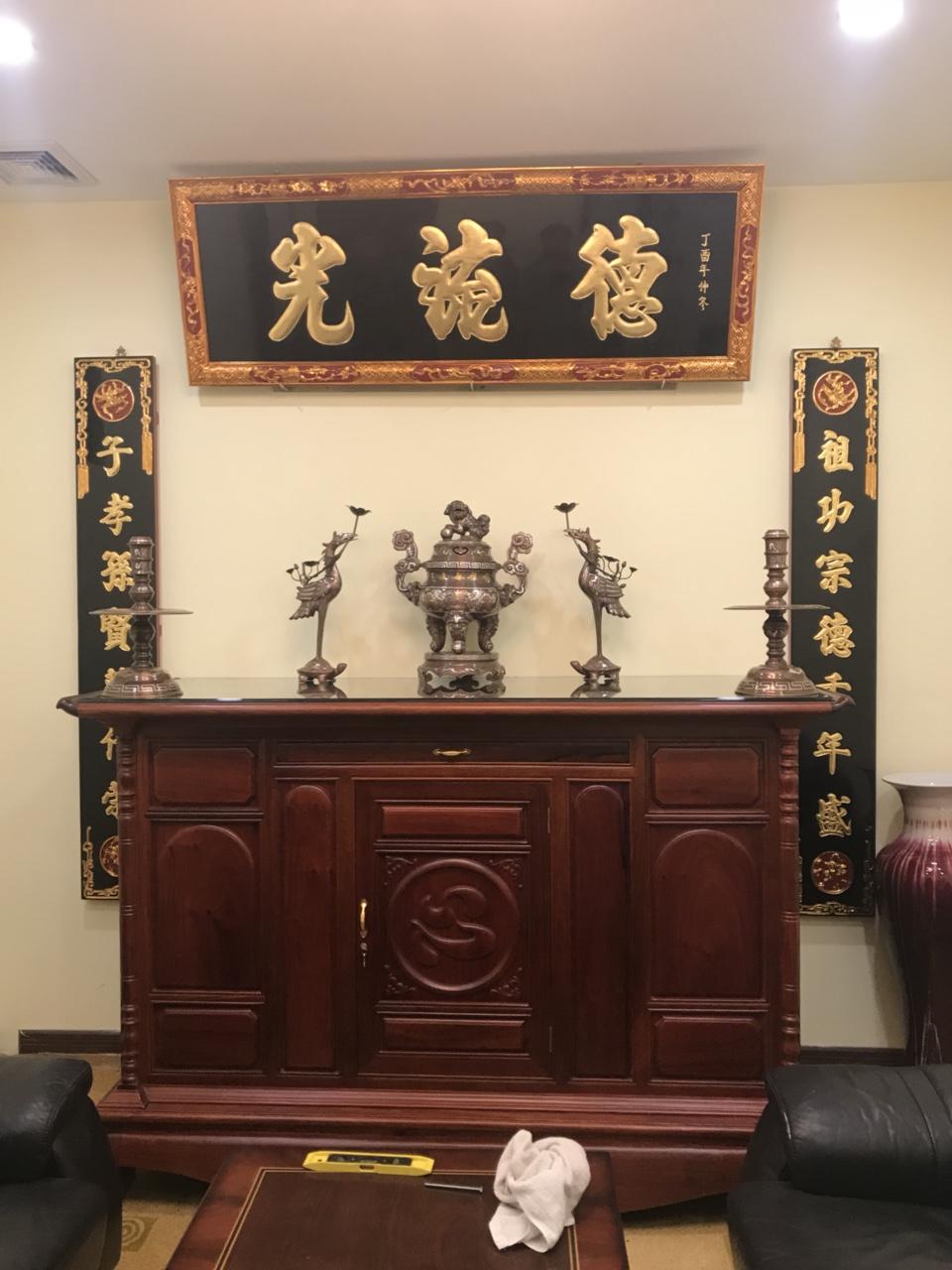 Một số mẫu bàn thờ Sơn Đồng đẹp