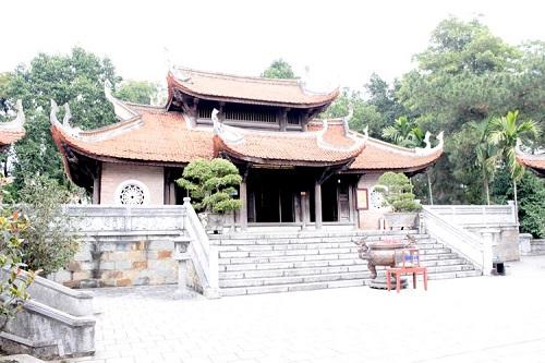 Đền thờ vua Hùng (trong quần thể khu thờ vua Hùng)