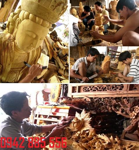 Đồ thờ Tâm linh Thông Hồng cơ sở sản xuất nổi tiếng tại Sơn Đồng