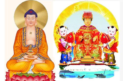Mối liên hệ giữa đạo Phật và đạo Mẫu