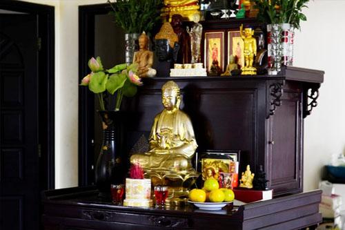 Những điều cần lưu ý khi thờ tượng Phật tại gia