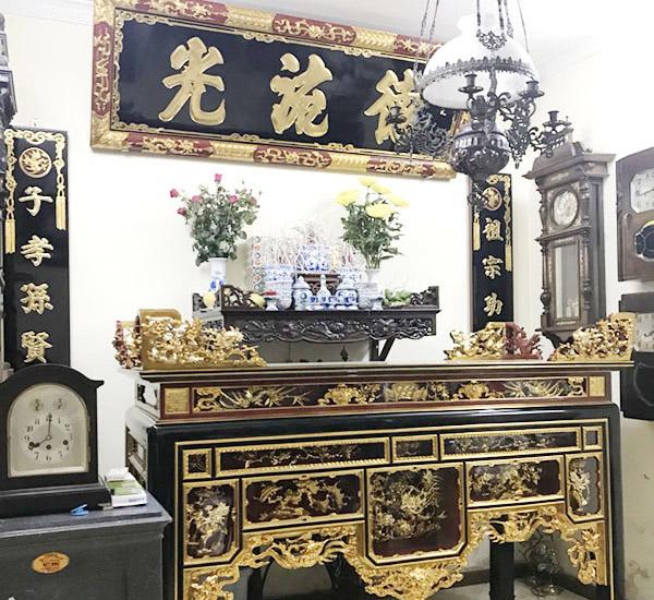 Bàn thờ sơn son thếp vàng chất lượng cao, giá rẻ