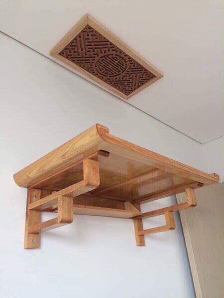 Bàn thờ treo cho nhà chung cư